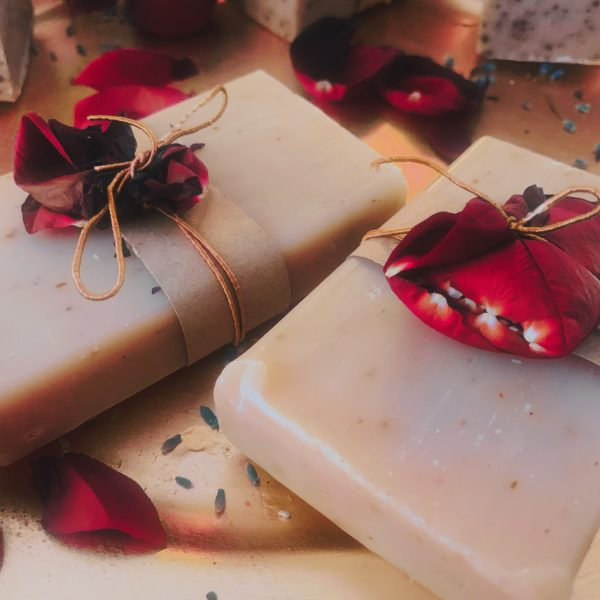 Himalayan Salt and Rose Soap Bar